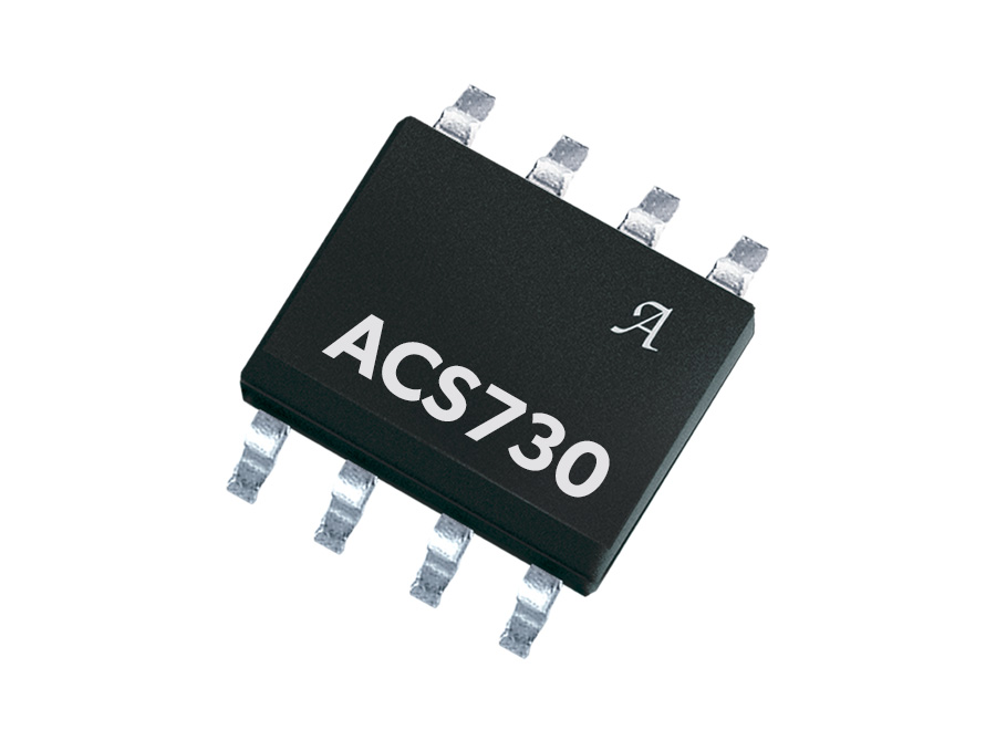 ACS730 1 MHz Bandwidth, Galvanically Isolated Current Sensor IC in