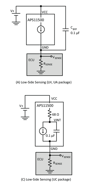 APS11500 Typical Application