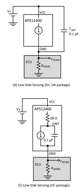 APS12400 Typical Application