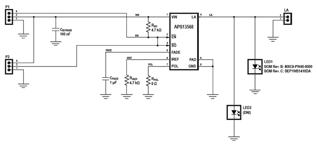 APS13568 Proto Board User Manual Fig 1