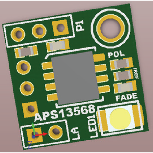 APS13568 Proto Board User Manual Fig 2