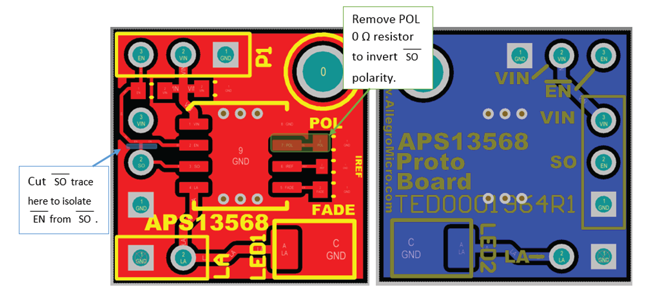 APS13568 Proto Board User Manual Fig 4