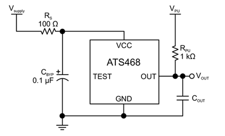 ATS468 Typical Application