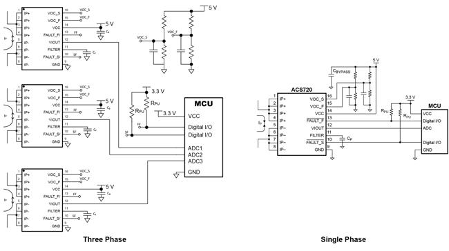 2 Tab-Pin psof Allegro Microsystems ACS 781 llrtr-courant 050U-T capteur de 5