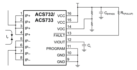 ACS732-3 Typical Application
