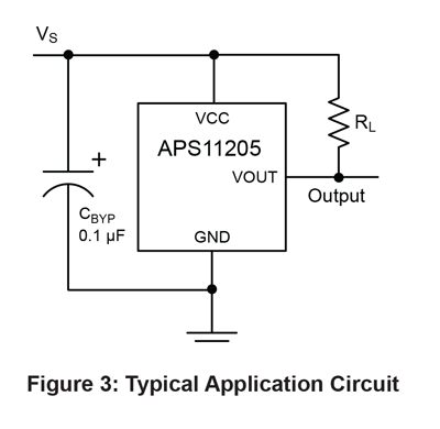 APS11205 Typical Application
