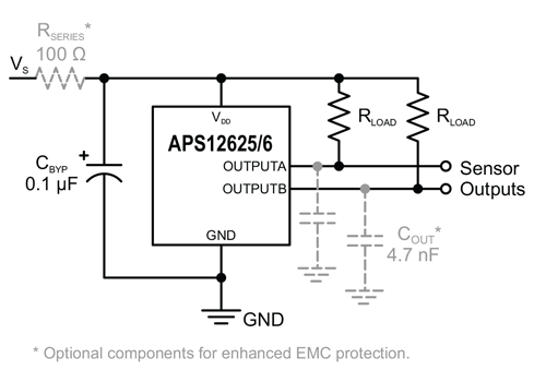 APS12625-6 Typical Application