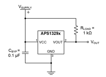 APS13290-1 Typical Application