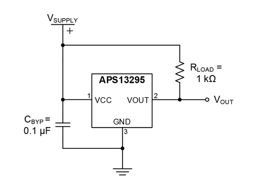 APS13295 Typical Application