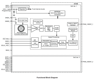 A1338 Block Diagram