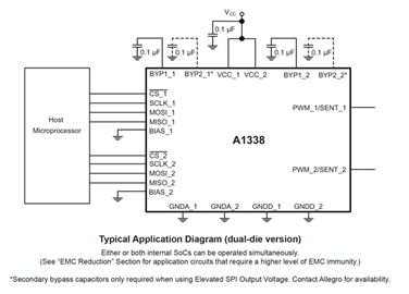 A1338 Typical Application