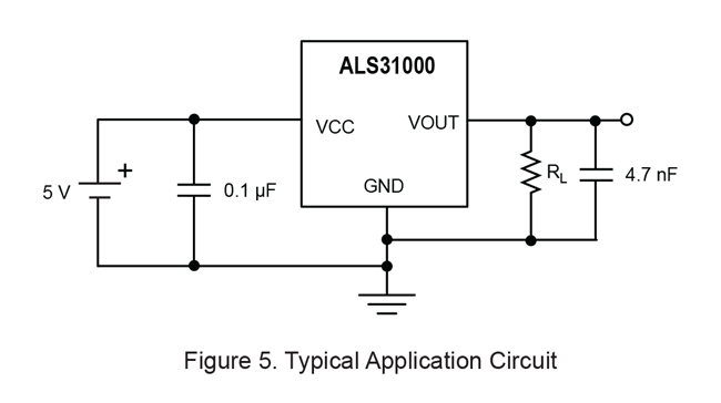 ALS31000 Typical Application