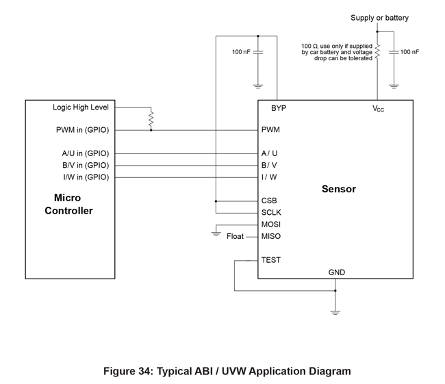 AAS33001 Typical Application