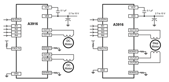 A3916 Typical Application