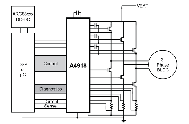 A4918 Typical Application