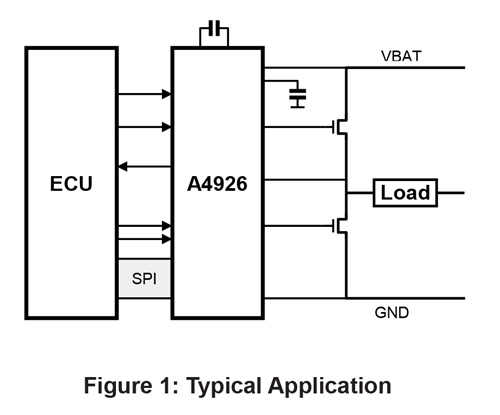 A4926 Typical Application