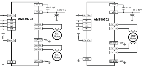 AMT49702 Typical Application
