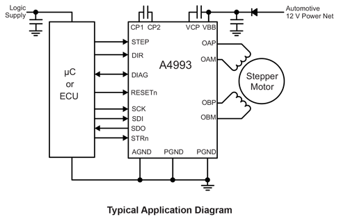 A4993 Typical Application