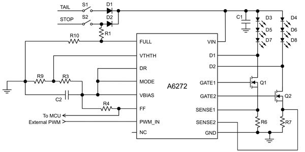 A6272 Typical Application