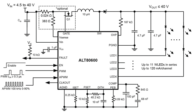 ALT80600 Typical Application