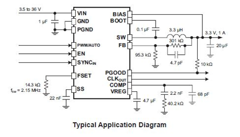 ARG81800 Application Diagram