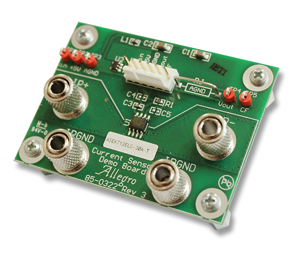 ACS712 Sample Demoboard