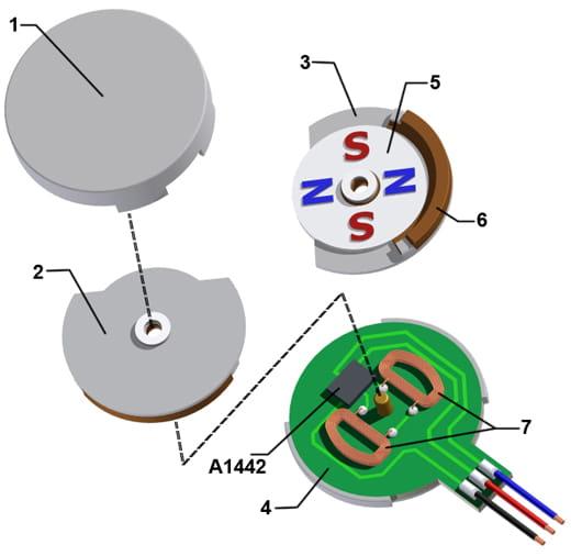 Brushless Motor Diagram Brushless Free Engine Image For