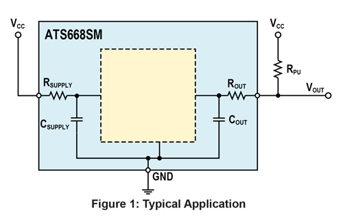 ATS668LSM Typical Application