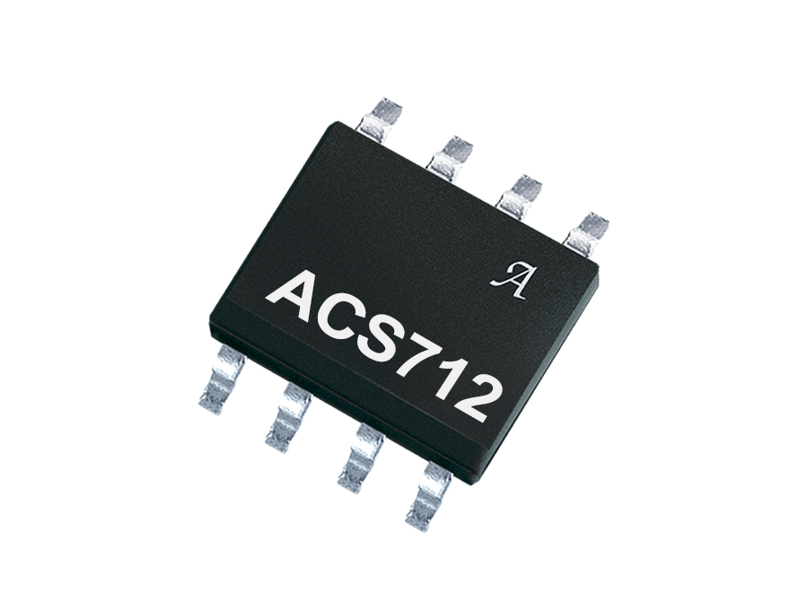 ACS712 Low-Noise 2100 VRMS Hall-Effect Current Sensor IC