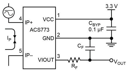 ACS773 Typical Application