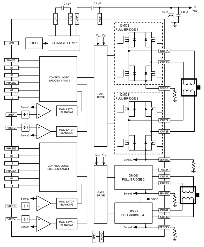 AMT49701 Block Diagram