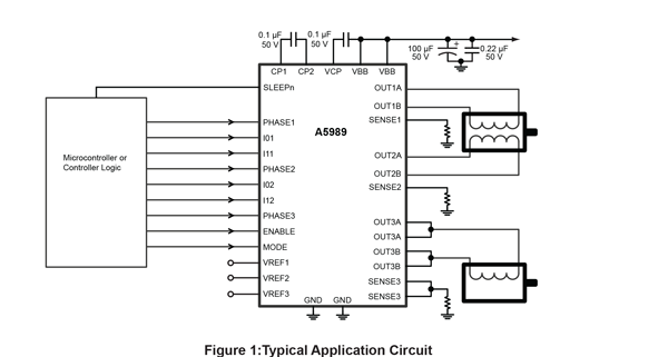 A5989 Typical Application