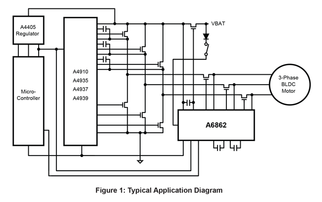 A6862 Typical Application